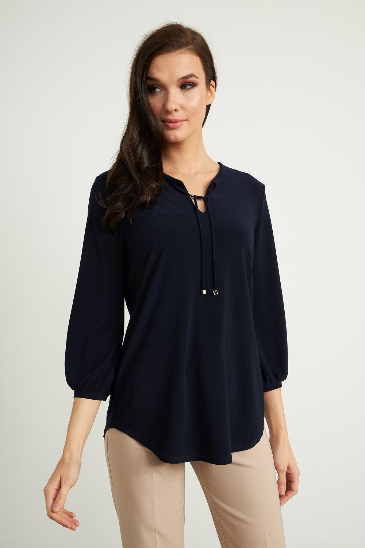 Joseph Ribkoff Chemises et blouses Bleu Minuit 40 Style 211191
