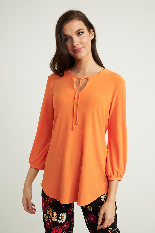 Joseph Ribkoff Tuniques Tangerine Style 211191