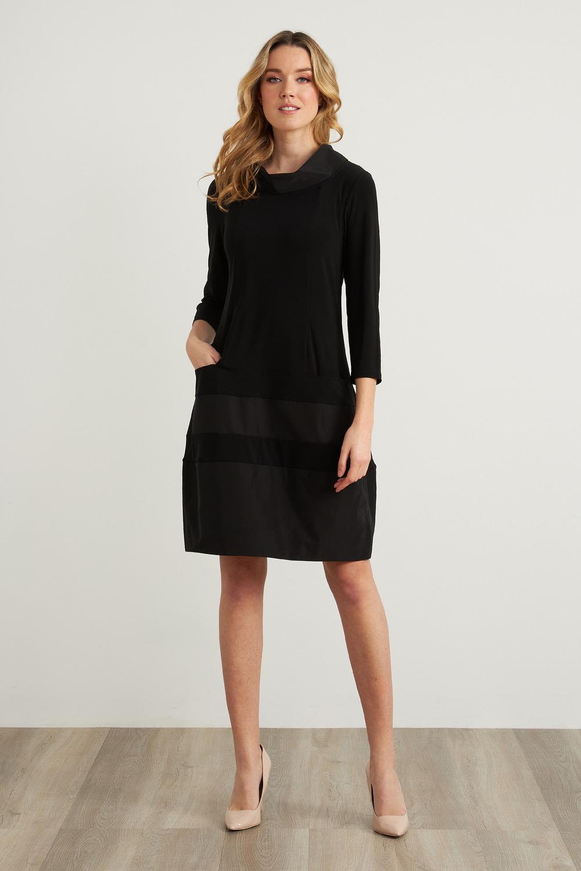 Joseph Ribkoff Robes Noir Style 211198