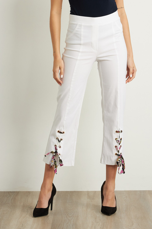 Joseph Ribkoff White Pants Style 211203