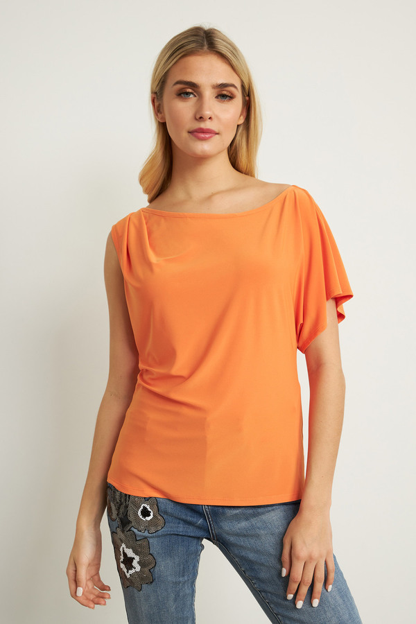 Joseph Ribkoff Tangerine Tees & Camis Style 211204
