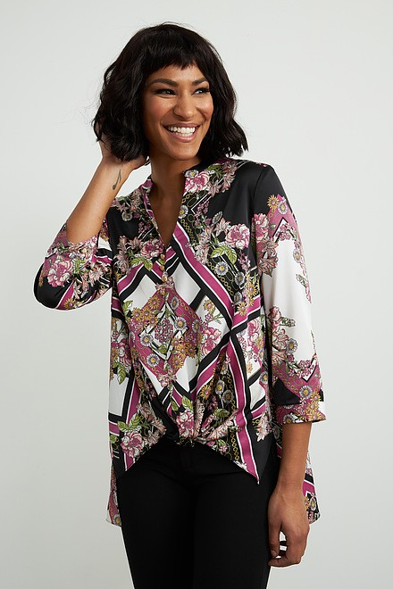 Joseph Ribkoff Chemises et blouses Noir/Blanc/Multi Style 211211