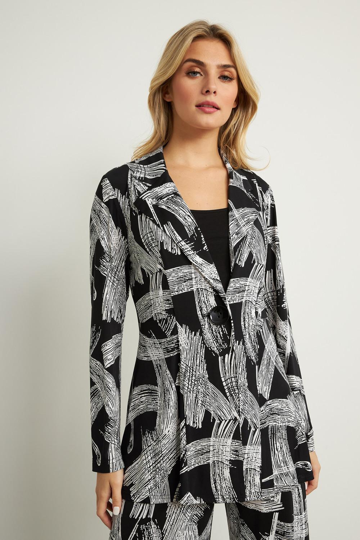 Joseph Ribkoff Black/White Blazers Style 211212