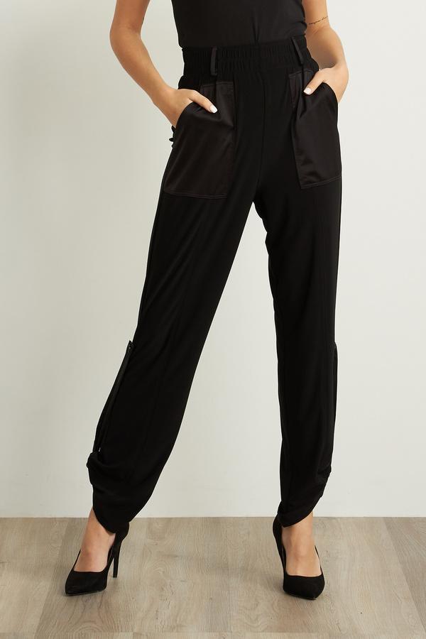 Joseph Ribkoff Pantalons Noir Style 211214