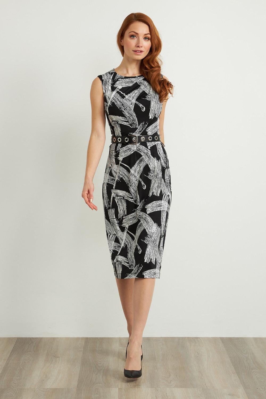 Joseph Ribkoff Black/White Dresses Style 211217
