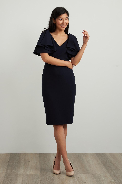 Joseph Ribkoff Midnight Blue Dresses Style 211224
