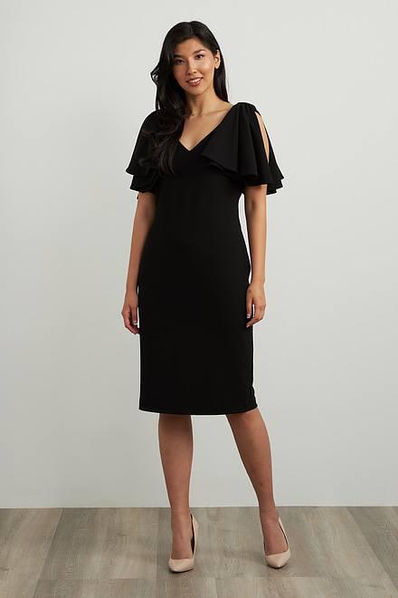 Joseph Ribkoff Robes Noir Style 211224