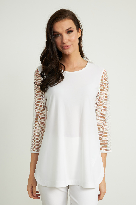 Joseph Ribkoff Vanilla Shirts & Blouses Style 211228