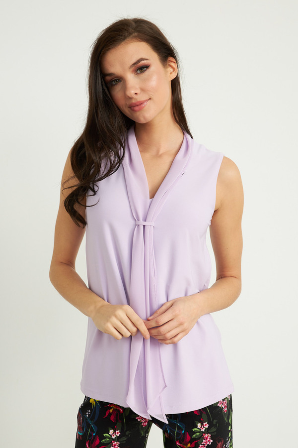 Joseph Ribkoff Tee-shirts et camisoles Doux Lilas Style 211229