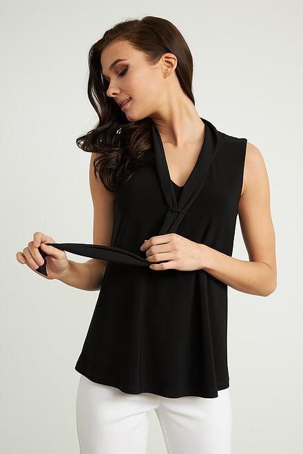 Joseph Ribkoff Black Tees & Camis Style 211229