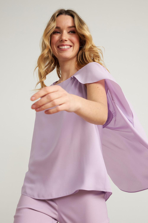 Joseph Ribkoff Sweet Lilac Shirts & Blouses Style 211232