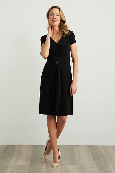 Joseph Ribkoff Gathered Front Dress Style 211234
