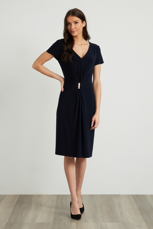 Joseph Ribkoff Robes Bleu Nuit Style 211234