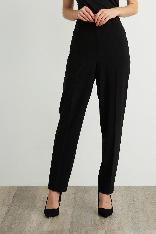 Joseph Ribkoff Black Pants Style 211236