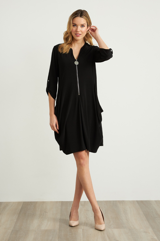 Joseph Ribkoff Black Dresses Style 211238