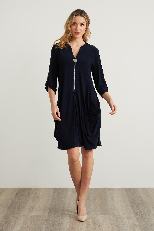 Joseph Ribkoff Robes Bleu Nuit Style 211238