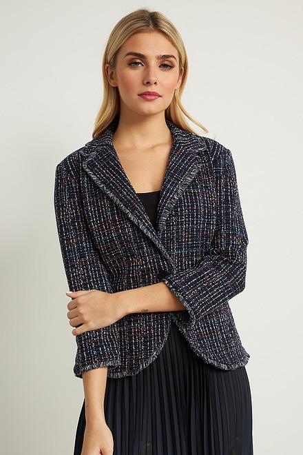 Joseph Ribkoff Multi-Colour Tweed Jacket Style 211240