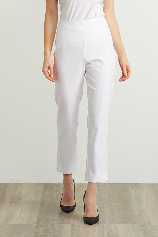 Joseph Ribkoff Pantalons Blanc Style 211241