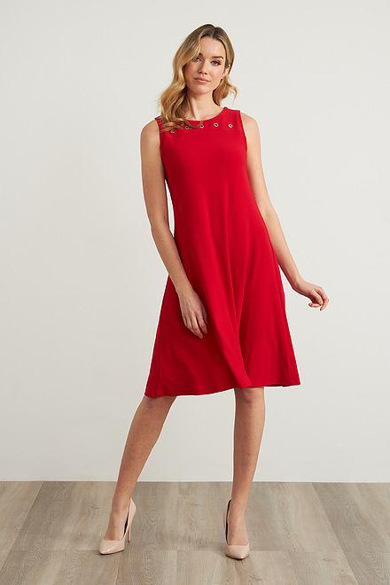 Joseph Ribkoff Lipstick Red 173 Dresses Style 211244