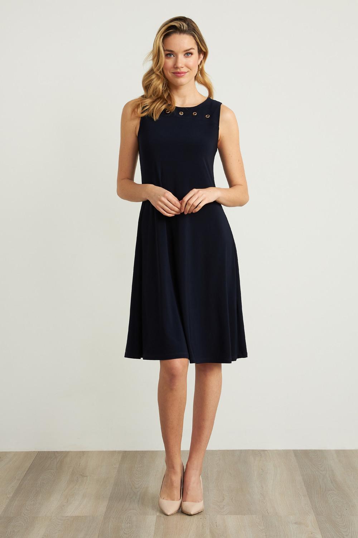 Joseph Ribkoff Robes Bleu Nuit Style 211244
