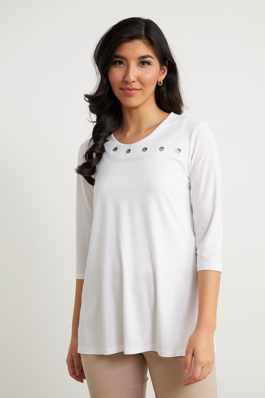 Joseph Ribkoff Vanilla 30 Shirts & Blouses Style 211255