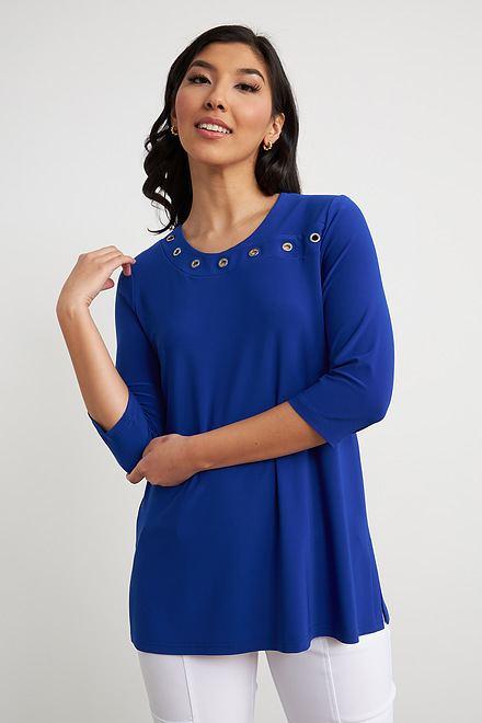 Joseph Ribkoff Royal Sapphire 163 Shirts & Blouses Style 211255