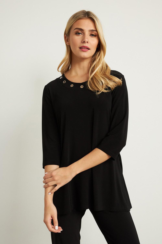 Joseph Ribkoff Black Tunics Style 211255