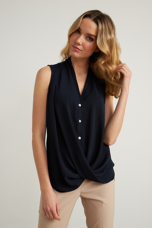 Joseph Ribkoff Chemises et blouses Bleu Nuit Style 211262