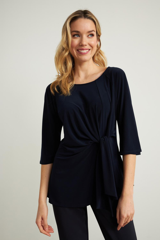 Joseph Ribkoff Tee-shirts et camisoles Bleu Nuit Style 211263
