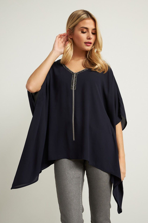 Joseph Ribkoff Midnight Blue Shirts & Blouses Style 211265
