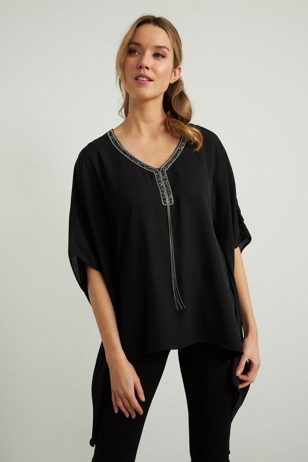 Joseph Ribkoff Black Tunics Style 211265