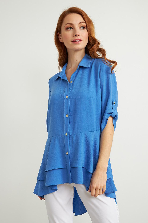 Joseph Ribkoff Aegean Sea Shirts & Blouses Style 211298