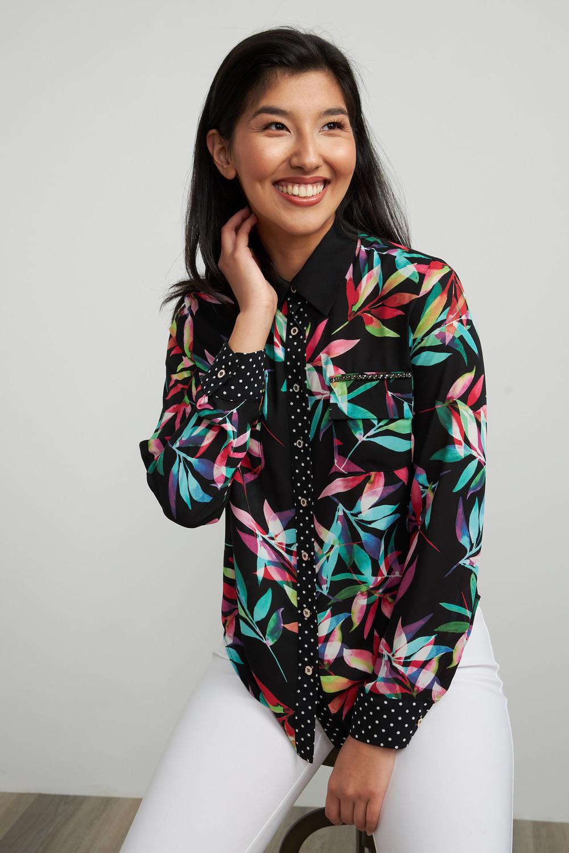 Joseph Ribkoff Chemises et blouses Noir/Multi Style 211303