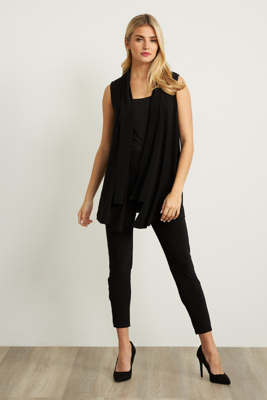 Joseph Ribkoff Pantalons Noir Style 211306