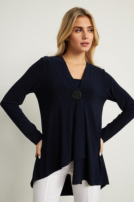 Joseph Ribkoff Cardigans Bleu Nuit Style 211315