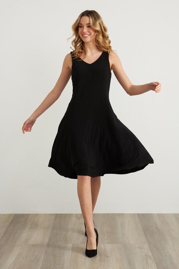Joseph Ribkoff Robes Noir Style 211316
