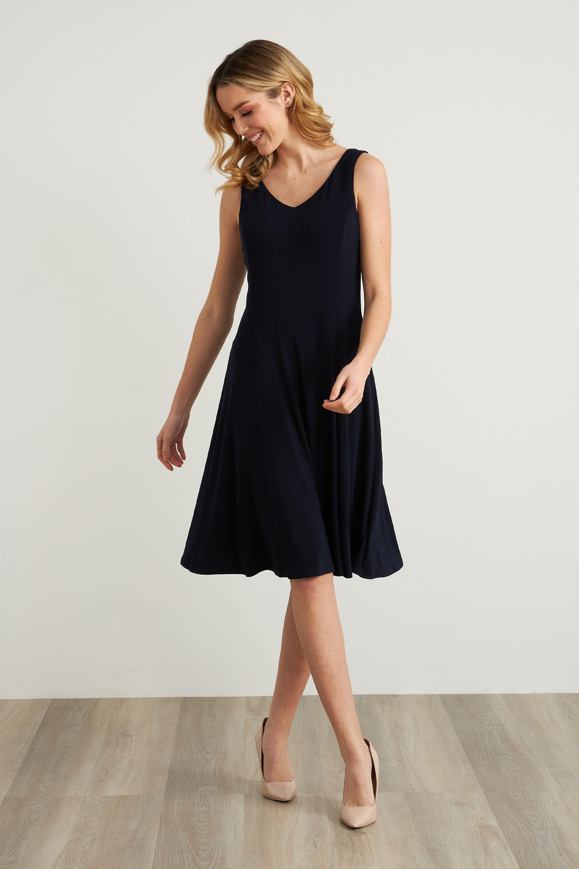 Joseph Ribkoff Robes Bleu Nuit Style 211316