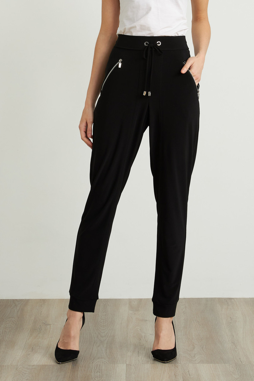 Joseph Ribkoff Black Pants Style 211317