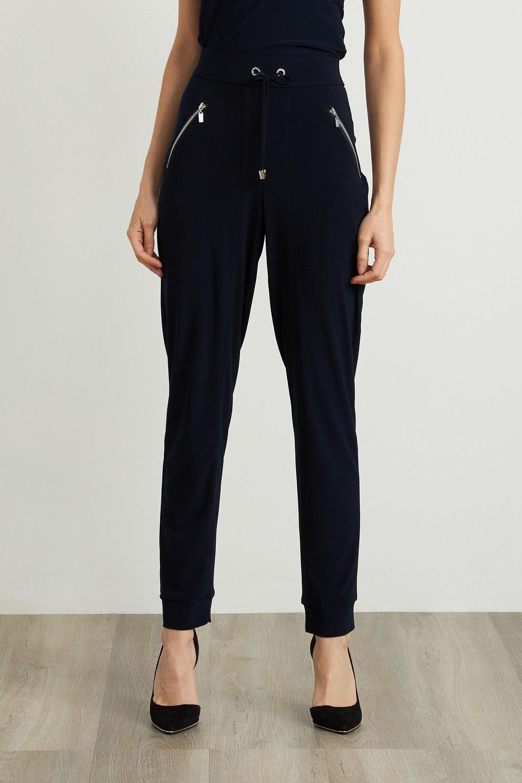 Joseph Ribkoff Pantalons Bleu Nuit Style 211317