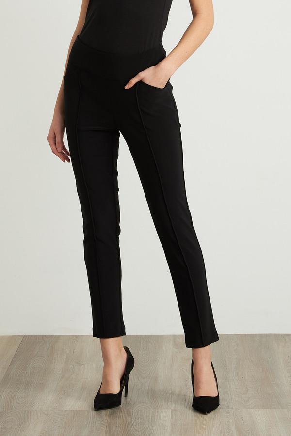 Joseph Ribkoff Black Pants Style 211320