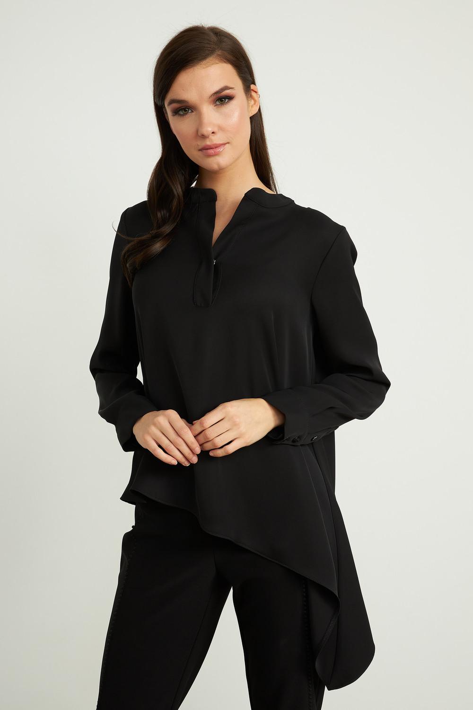 Joseph Ribkoff Black Shirts & Blouses Style 211323