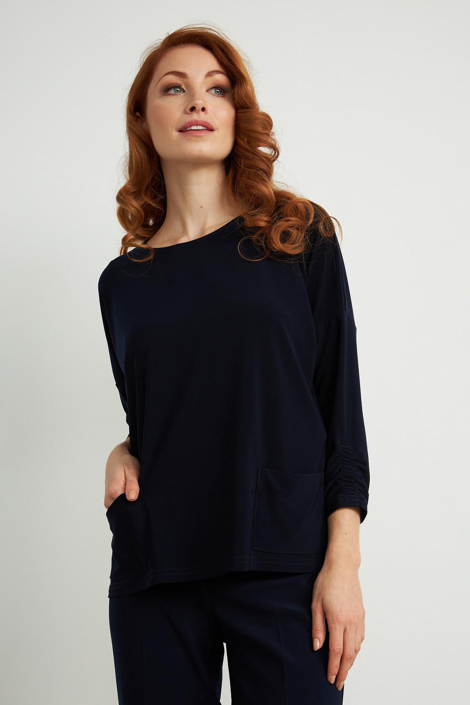 Joseph Ribkoff Chemises et blouses Bleu Minuit 40 Style 211327