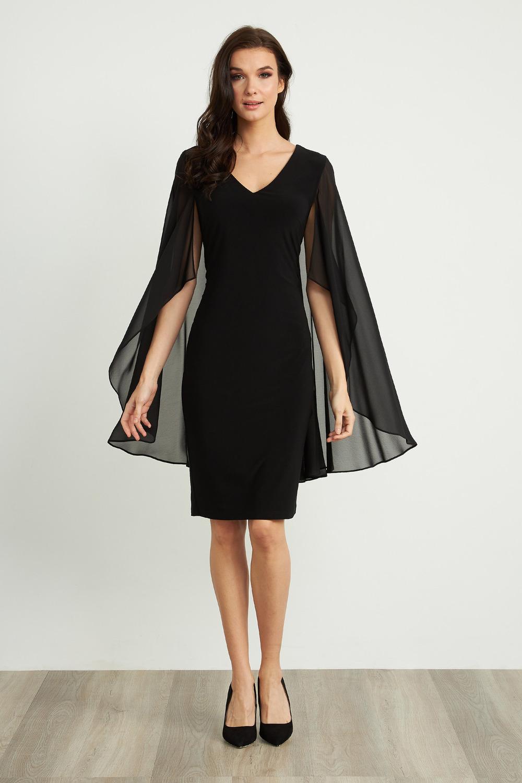 Joseph Ribkoff Robes Noir Style 211341