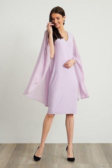 Joseph Ribkoff Sweet Lilac Dresses Style 211341