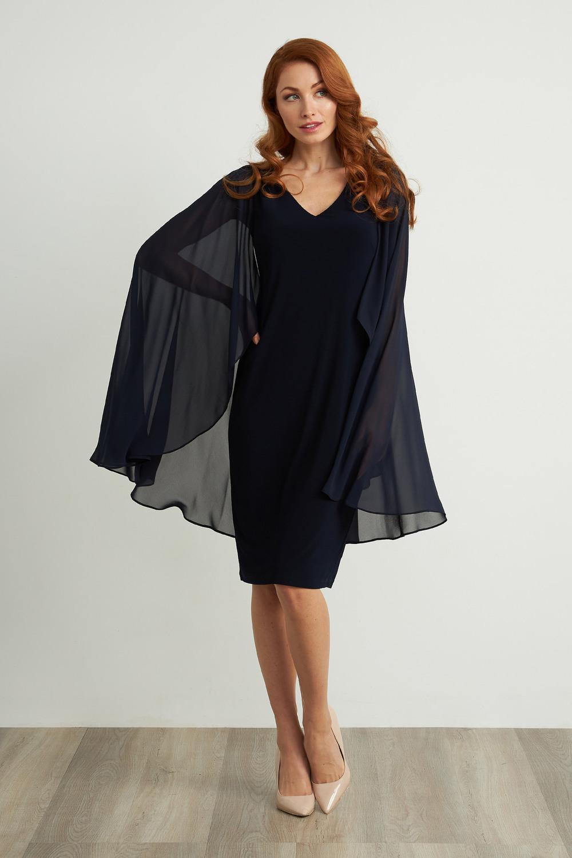 Joseph Ribkoff Robes Bleu Nuit Style 211341