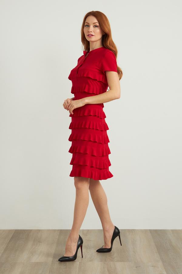 Joseph Ribkoff Lipstick Red 173 Dresses Style 211350