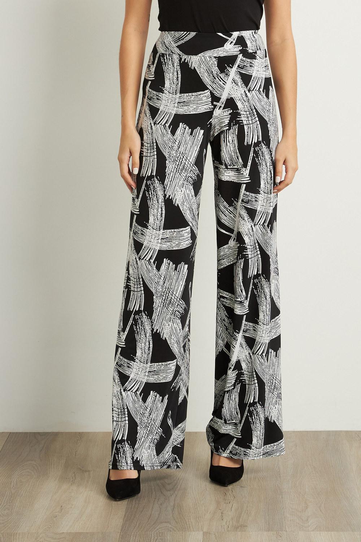 Joseph Ribkoff Pantalons Noir/Blanc Style 211368