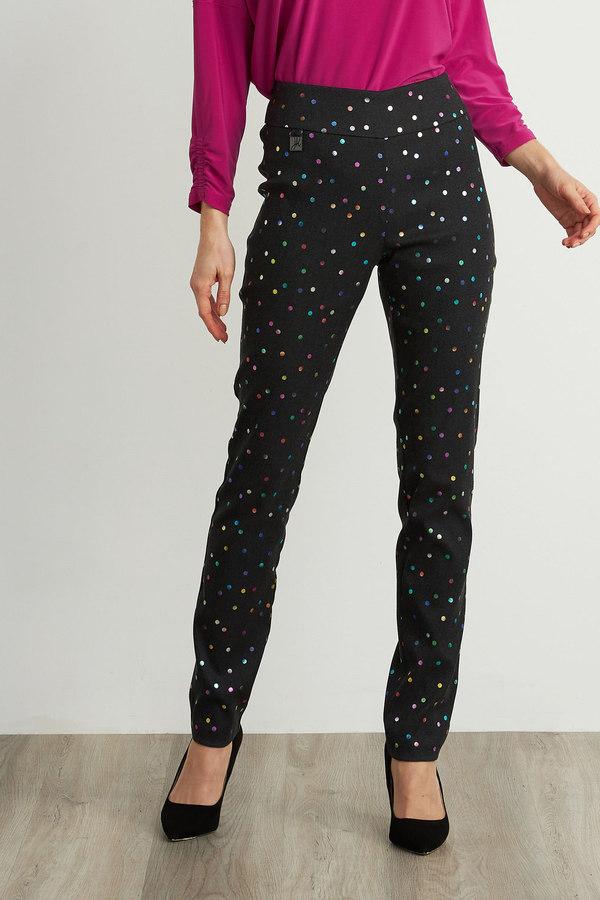 Joseph Ribkoff Grey/Multi Pants Style 211379