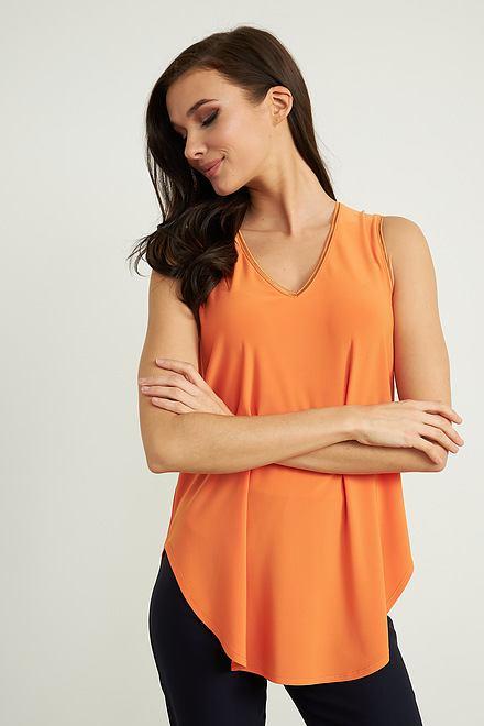 Joseph Ribkoff Tangerine Tees & Camis Style 211383