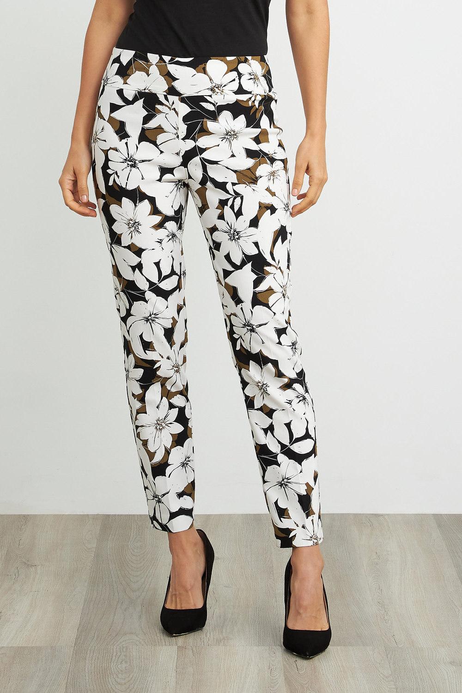 Joseph Ribkoff Pantalons OLIVE/NOIR Style 211390